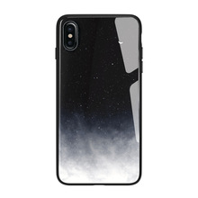 Star mobile phone case for iphone xs new Apple XR glass 7plus anti-fall all-inclusive protective cover star max