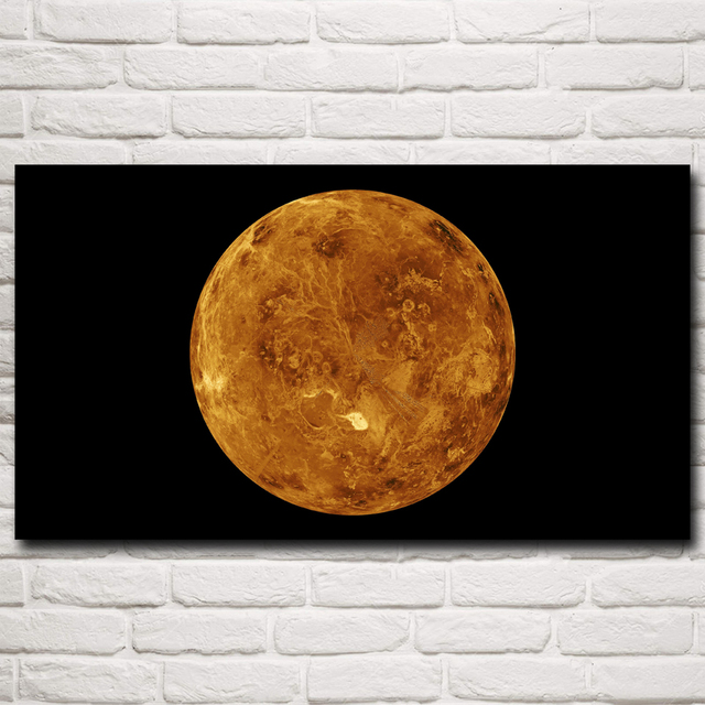 d360a2e7bde05 US $5.03 16% OFF|Universe Galaxy Venus Planet Space Art Silk Poster Print  Home Decor Pictures 11x20 16x29 20x36 24x43 30x54 Inches Free Shipping-in  ...