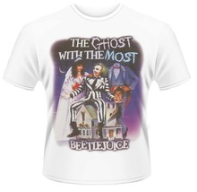 Formal Shirts Short Sleeve Regular Beetlejuice The Ghost With Most Crew Neck Mens Tee Shirt