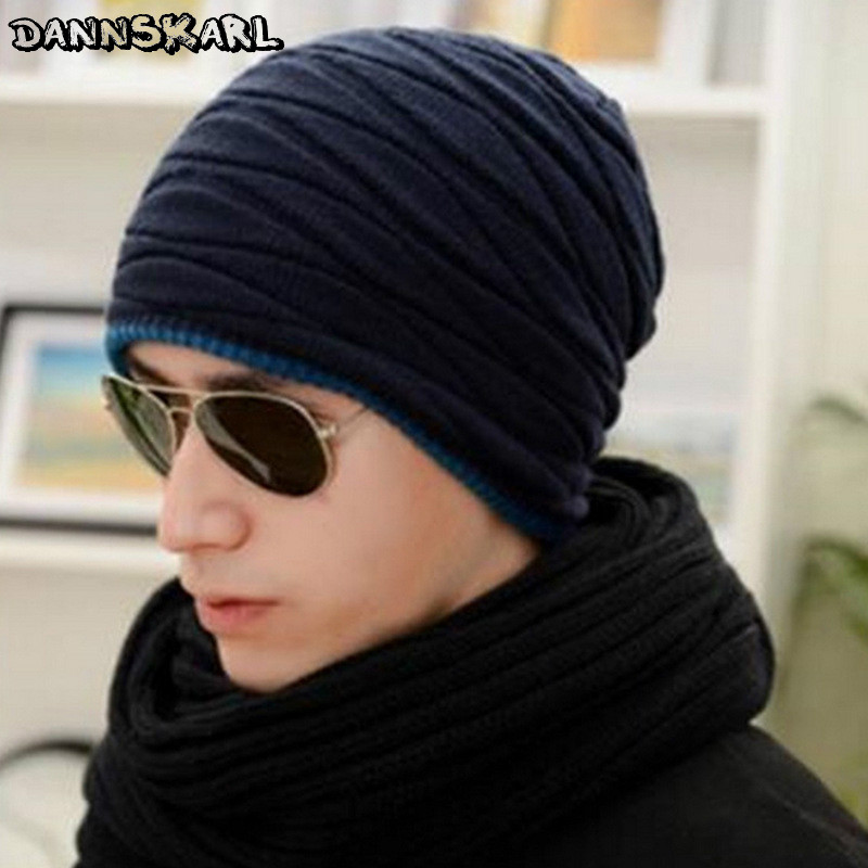 2016 Arrival Beanies Knitted Hat Men's Winter Hats For Women Men Caps Gorros Warm Moto Fur Winter Beanie Fleece Knit Bonnet Hat brand beanies knit men s winter hat caps skullies bonnet homme winter hats for men women beanie warm knitted hat gorros mujer