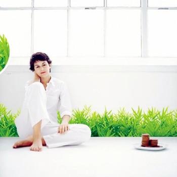 * 3d fresh green grass baseboard p