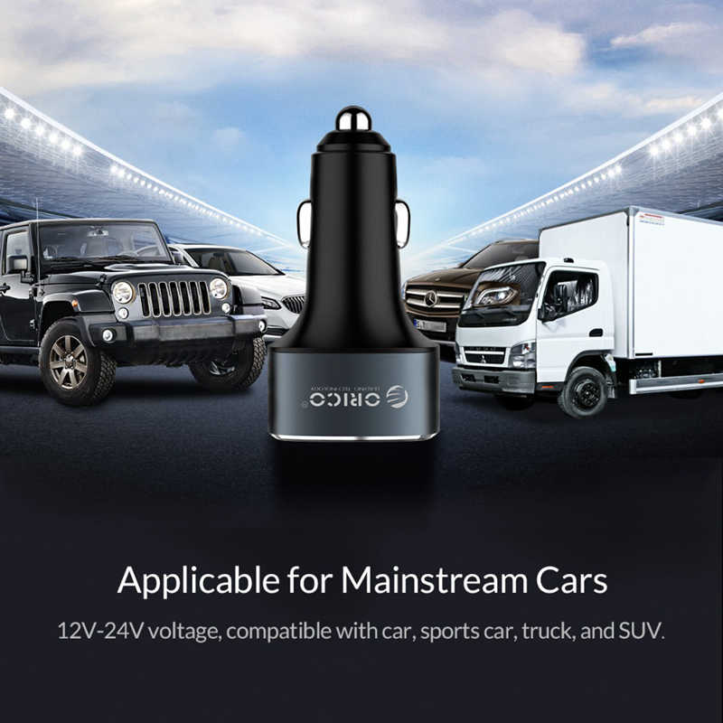 Image 4 - Orico Portable 3 Usb Ports Car Phone Charger Usb Cigarette Lighter Splitter Fast Charging Device For Iphone Samsung Xiaomi-in Chargers from Consumer Electronics