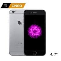Разблокированный Apple iPhone 6 IOS двухъядерный 1,4 ГГц 4,7 дюймов ram 1 Гб rom 16/64/128 ГБ 8,0 МП камера 3g WCDMA LTE Подержанный мобильный телефон