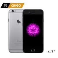 "Desbloqueado Apple IOS iPhone 6 Dual Core 1,4 GHz 4,7 ""pulgadas RAM 1GB ROM 16/64/128GB 8,0 MP Cámara 3G WCDMA LTE de teléfonos móviles"