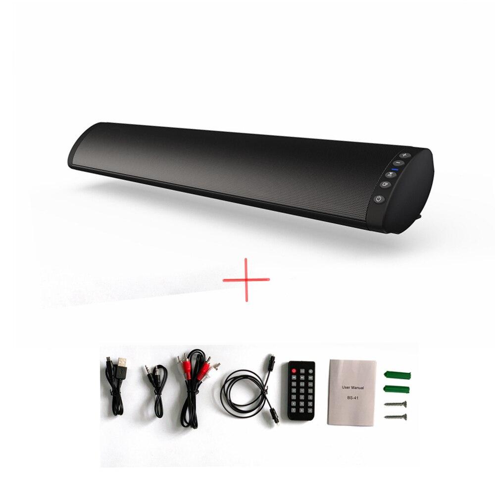 Multifonctionnel Mur TV TV Bluetooth Haut-Parleur Sans Fil Bluetooth Haut-Parleur TV Soundbar 3D Stéréo Surround Subwoofer Audio Haut-Parleur