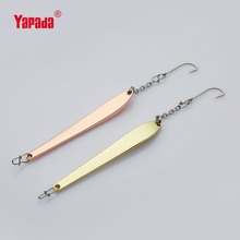 YAPADA Ice Fishing  507 Chopsticks 10g /14g BKK Hook 73mm/82mm Multicolor Metal Jigging Spoon Fishing Lures