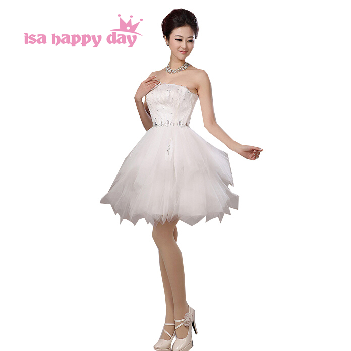 special occasion ivory strapless   prom     dress   feathers   dresses   party time formals brides size 14 2019 new arrival short gowns 2053