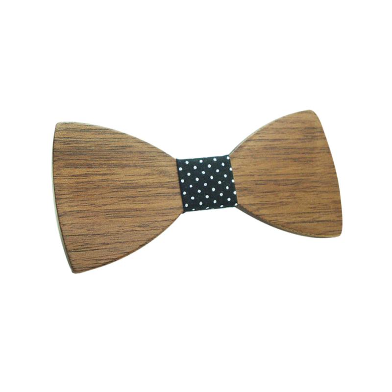 New Arrival Fashion Children Boys Wooden Bow Ties Kids Bowties Butterfly Cravat Wood Lovely ties