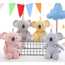 Lazada Plush Koala 2017 New Design Super Soft High Quality Cartoon Animal Toys Best Gifts for Kids Friends 11''(China)