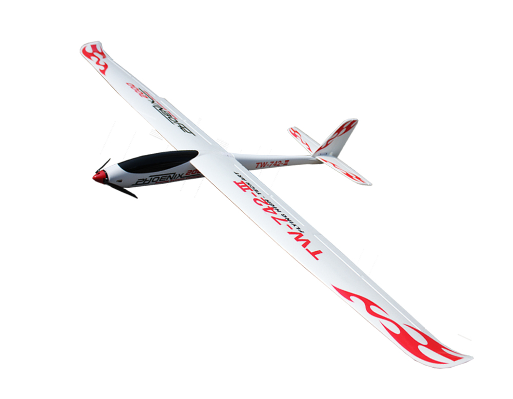 Volantex Phoenix 2000 RC PNP/ARF Glider Plane Model W/ Brushless Motor Servo ESC arf combo package including motor esc servo propeller remote control electric powered new hugin 2 2m v tail glider rc airplane v