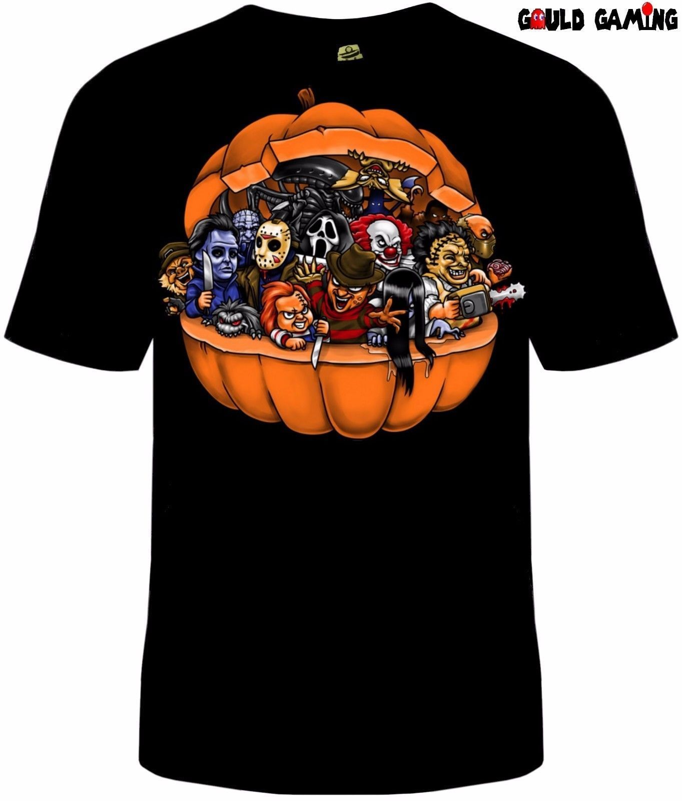 Halloween Pumpkin Killers T-Shirt Unisex Horror Sizes Freddy Chucky IT Alien New