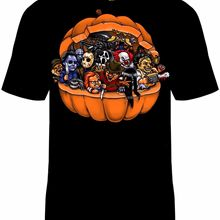 Halloween Pumpkin Killers T-Shirt Unisex Horror Sizes Freddy
