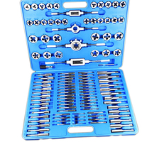 110pcs Tap and Die Set M2 M18 Alloy Steel Metric Plugs Taps and Tap Wrench for Metalworking Hand Tools Set