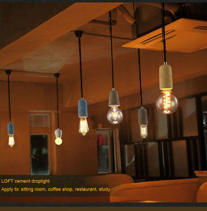 Image 5 - Artpad อุตสาหกรรม Retro Cement จี้ห้องครัวห้องน้ำห้องรับประทานอาหารทางเดิน LED จี้คอนกรีตโคมไฟ E27 EDISON ฐานผู้ถือ