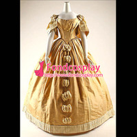 Victorian Rococo Medieval Gown Ball Dress Gothic Evening Dress Cosplay Costume Tailor made[G900]