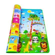 Playmat Baby Play Mat Toys For Children's Mat Rug Kids Developing Mat Rubber Eva Foam Play 4 Puzzles Foam Carpets DropShipping недорого
