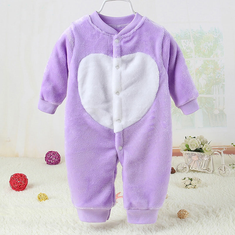 Cartoon Soft Long Sleeve Romper Newborn Baby Spring Outerwear Fashion Outerwear Infant Babies Jumpsuit Toddler Girl Boy Clothing