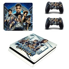 The Avengers Black Panther PS4 Slim Skin Sticker