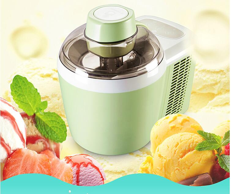 Automatic Ice Cream Machine  Children DIY Fruit  Ice Cream Maker Household Ice Cream Machine Soft Ice Machine ICM-700A-1 edtid portable automatic ice maker household bullet round ice make machine for family small bar coffee shop 220 240v 120w eu us