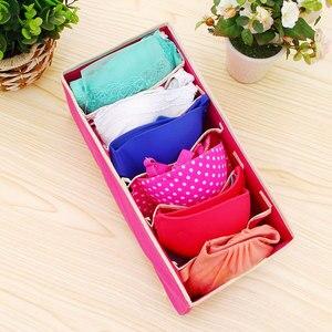 Image 5 - Boîte de rangement de lingerie chaussettes 6 24 grille