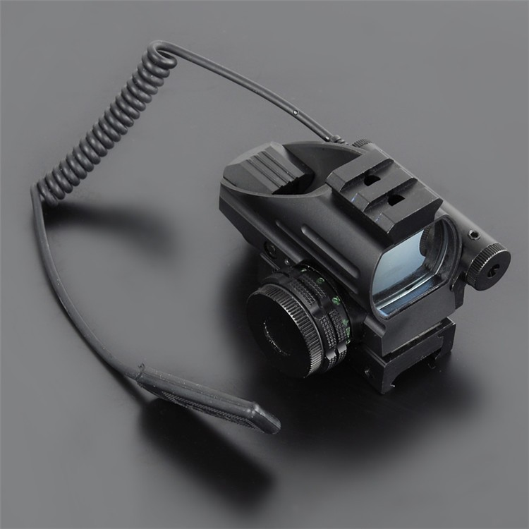 Mini Red Dot Scope With LLL Night Vision Laser Sight Air Rifle Gun Riflescope Outdoor Hunting Telescope Sight Gunsight