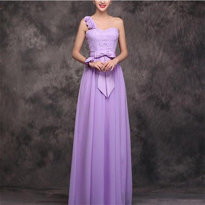 Anticuado Vestido De Novia De Un Hombro De Gasa Ideas Ornamento ...