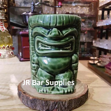 Hawaii Tiki Mugs Cocktail Cup Beer Beverage Mug Wine Mug Ceramic Tiki Mugs