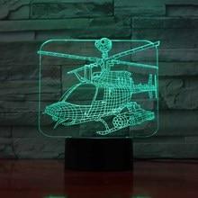 Lamp Illusion  – 3D Air Plane Light LED Table