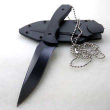 Fixed Blade Survival Hunting Knife Outdoor Small Necklace Knife Cutter Camping Tactical Knives SDIYABEIZ