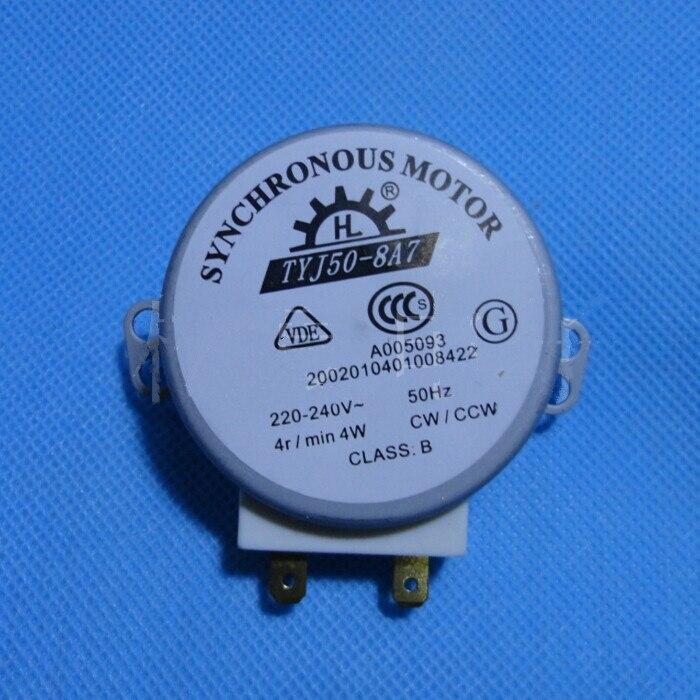 Микроволновая печь проигрыватель синхронный двигатель 4 Вт AC 220 - 240 В 4 об./мин. CW / CCW