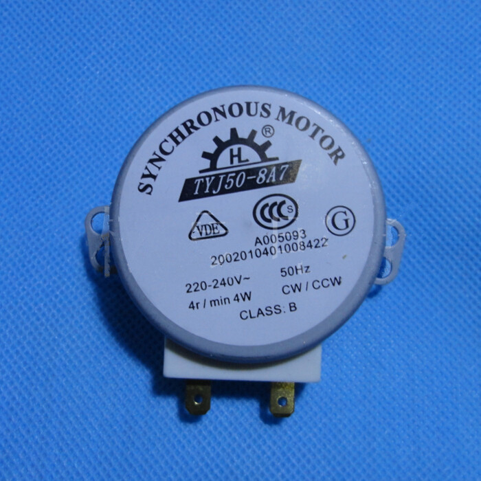 Microwave Oven Turntable Synchronous Motor 4w Ac 220 240v 4 Rpm Cw Ccw
