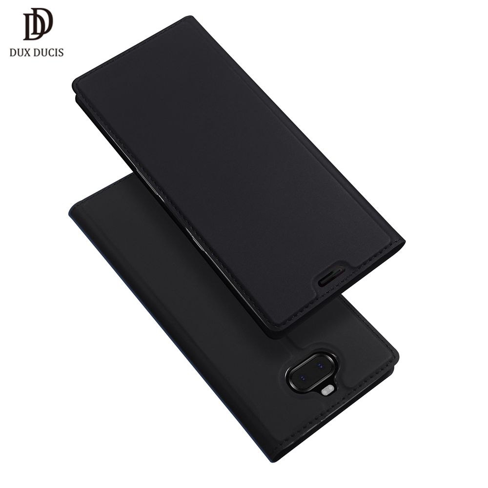 DUX DUCIS Leather Flip Case For Sony Xperia 10 Case Plus 1 Wallet Phone Cover For Sony Xperia 10 Plus Xperia10 1 Funda 2019 NewDUX DUCIS Leather Flip Case For Sony Xperia 10 Case Plus 1 Wallet Phone Cover For Sony Xperia 10 Plus Xperia10 1 Funda 2019 New