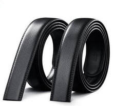 Men's real leather business belt, 숙 녀 brand fashion belt(China)
