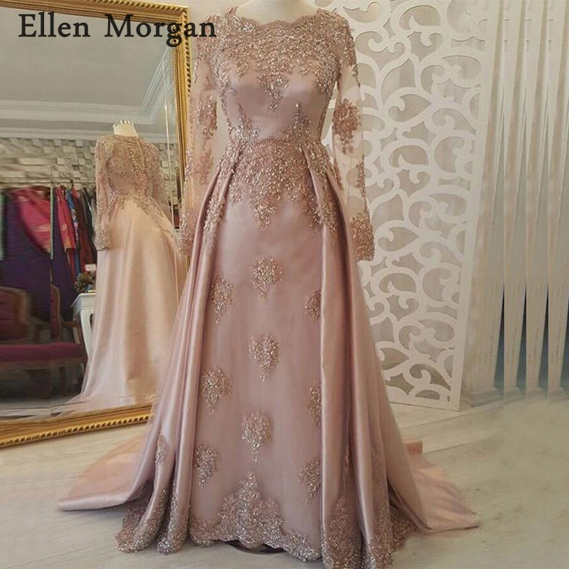 Detail Feedback Questions about Arabic Moroccan Musilm Evening Dresses  Party Elegant for Women Dubai Caftans Saudi Arabian Long Sleveves Lace  Vintage Prom ... 28cc0222c80e