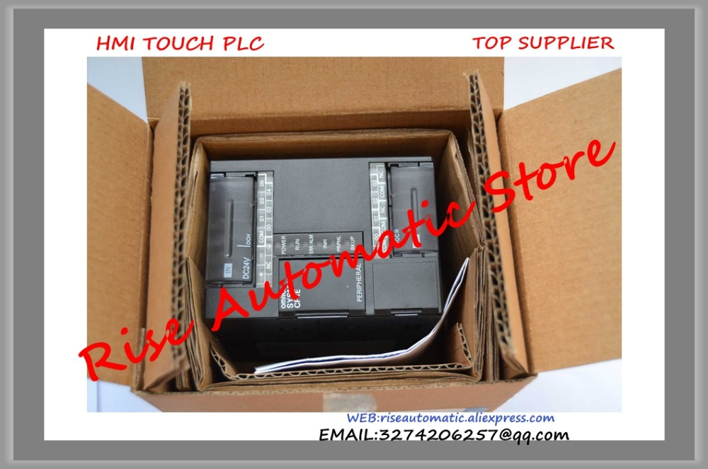 New original PLC 6 input 4 output Transistor Sinking CP1E-E10DT-D 24VDC well tested working dvp32es211t delta new original plc es2 series 24vdc 16di 16do transistor output