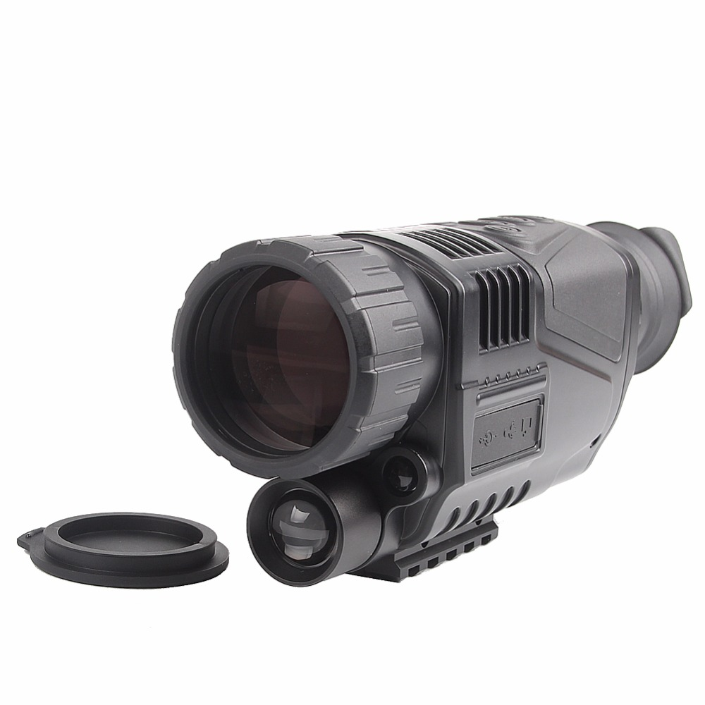 IR Digital Monocular Night Vision Camping Wildlife Telescope 5x Magnification 40mm Objective with Photo Video Function HT29-0003 boblov digital nv100 night vision device scope monocular ir telescope video dvr lcd screen 4gb tf card 2x wildlife night hunting