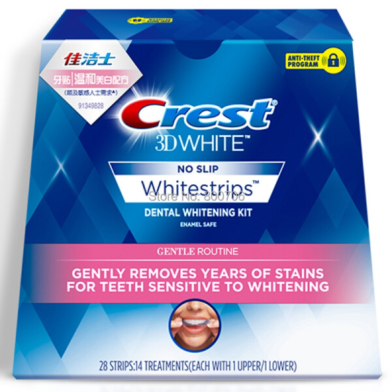 Commercials for crest whitestrips