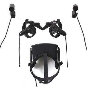 Dla Oculus Rift cv1 VR hak ścienny stojak do montażu-kontroler dotykowy stojak do przechowywania-czujnik ścienny do zestawu słuchawkowego vr Oculus