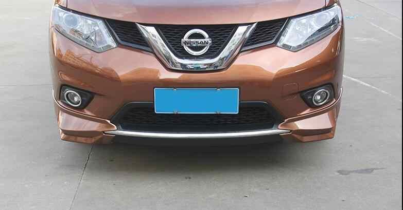 Untuk Nissan X-TRAIL Tubuh Kit Spoiler 2014-2016 untuk X-TRAIL KD ABS Belakang Lip Spoiler Belakang Bumper Depan Diffuser bumper Pelindung