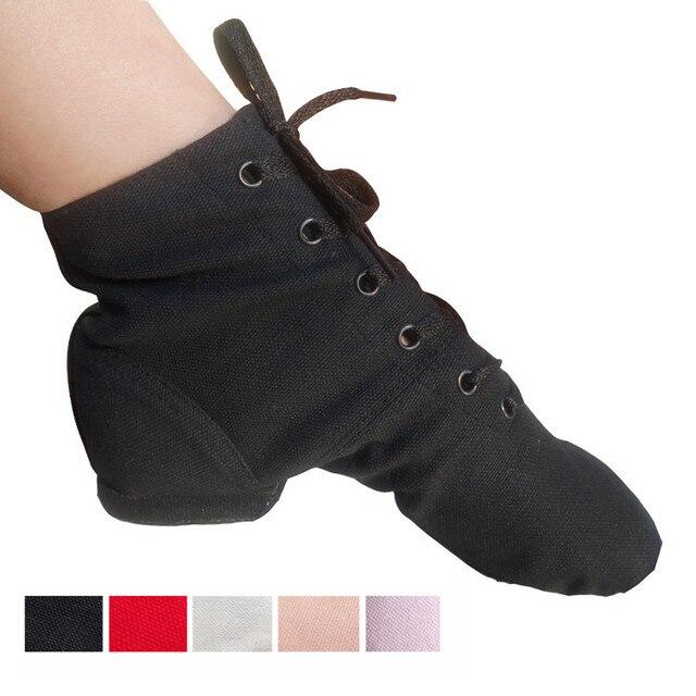 504f710bb High Top Desinger Ballet Dance Shoes Split Heels Sole Shoe Black Red ...
