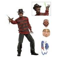 Bán chứng khoán neca một cơn ác mộng on elm street freddy krueger 30th pvc hành động hình sưu tập toy 7