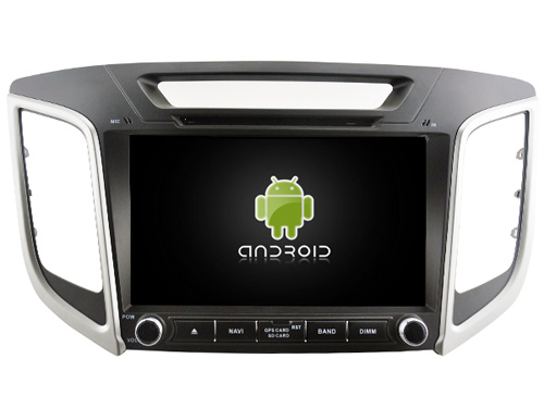 Android 9.0 de Áudio DO CARRO DVD player PARA HYUNDAI ix25/CRETA gps unidade de cabeça de Multimídia do carro do dispositivo receptor apoio DVR DAB WIFI OBD