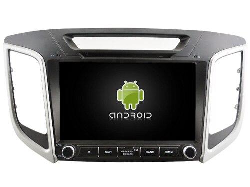 Android 9.0 lecteur Audio DVD de voiture pour HYUNDAI ix25/CRETA gps voiture multimédia tête dispositif unité récepteur soutien DVR WIFI DAB OBD