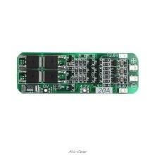 3S 20A Li ion batería de litio 18650 cargador PCB Placa de protección BMS 12,6 V célula 64x20x3,4mm módulo