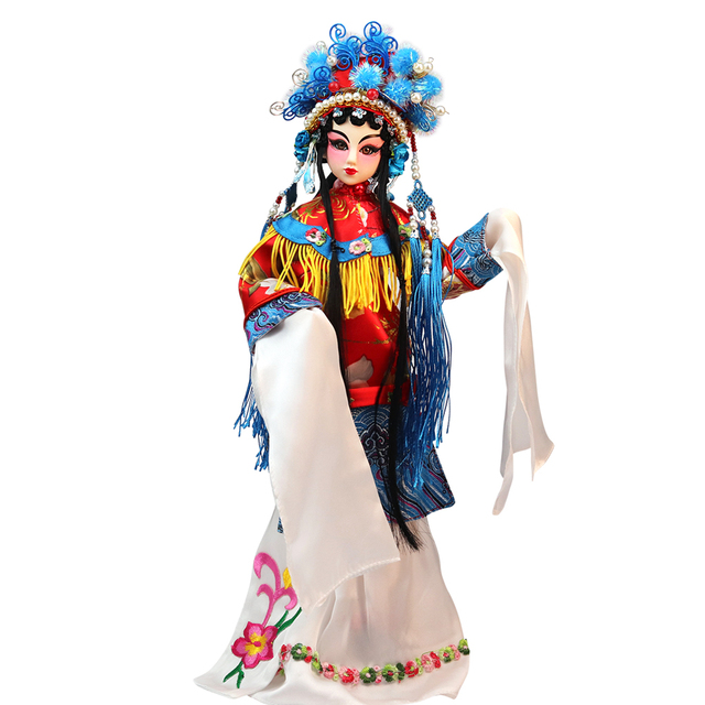 BJD East Charm Chinese Opera Role Diva With Outfit Crown, Stand & Box 35cm F&D toys Special design Joint Body