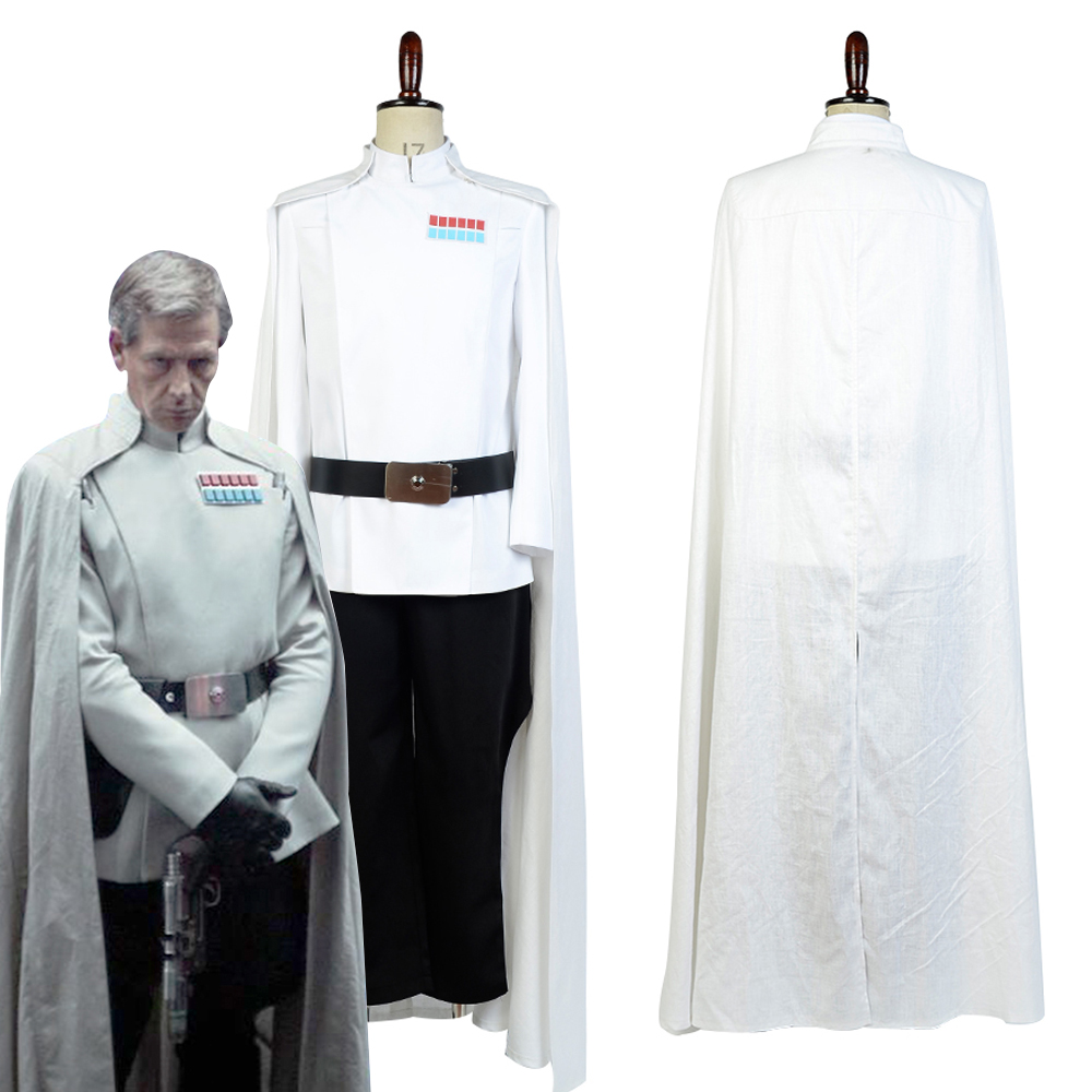 Rogue One A Star Wars Story Bail Prestor Organa Cosplay Costume Uniform Outfit