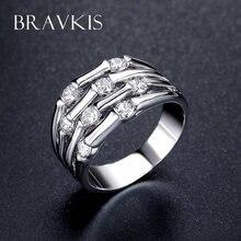 Bravekiss уникальные многорядные бамбуковые кольца ювелирные