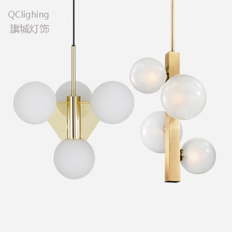 Modern Minimalist Pendant Light Lamp Nordic Ceiling Clothing Decoration Glass Ball Lamp for Living Room Bedroom Dining RoomModern Minimalist Pendant Light Lamp Nordic Ceiling Clothing Decoration Glass Ball Lamp for Living Room Bedroom Dining Room