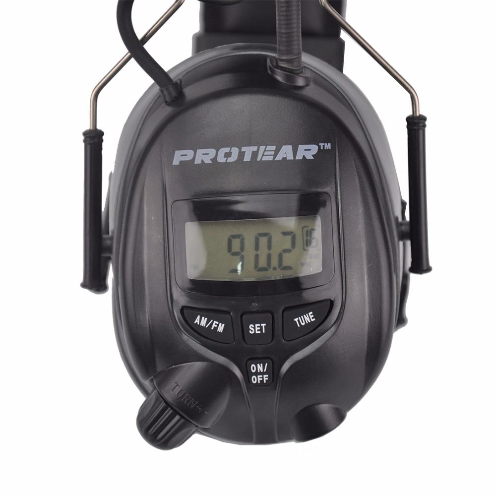 Protear NRR 25dB Електронний захисний слух AM - Безпека та захист - фото 2