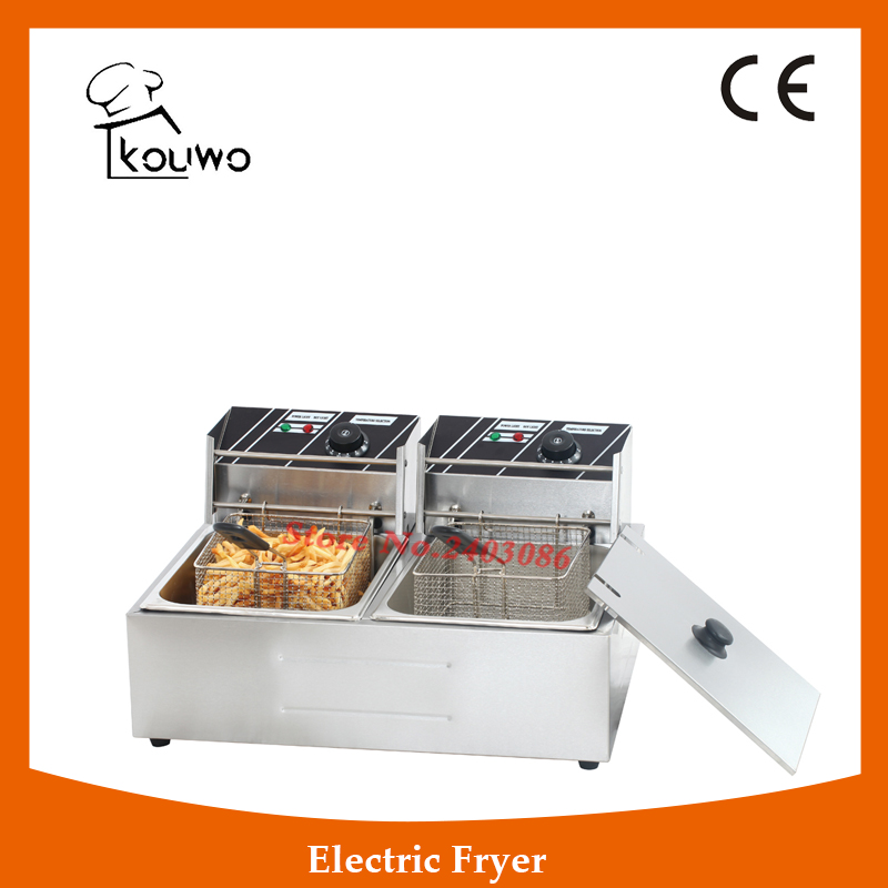 Counter Top Double Commercial Deep Fryer Machine/chip Fryer/kfc Chicken Fryer Machine Equipment,High Quality Double Commercial учебники вентана граф технология 6 кл рабочая тетрадь издание 1